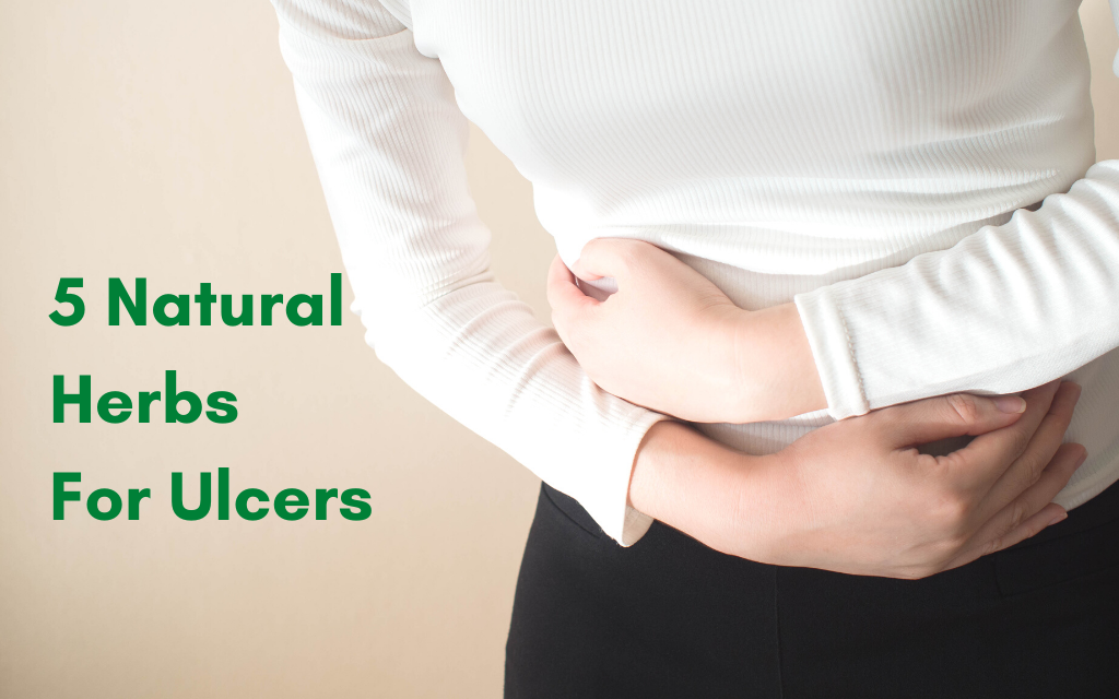 5 Natural Herbs For Ulcers