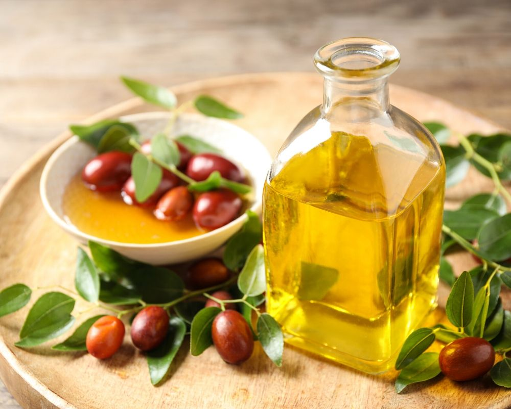 Jojoba Oil being used as a remedy