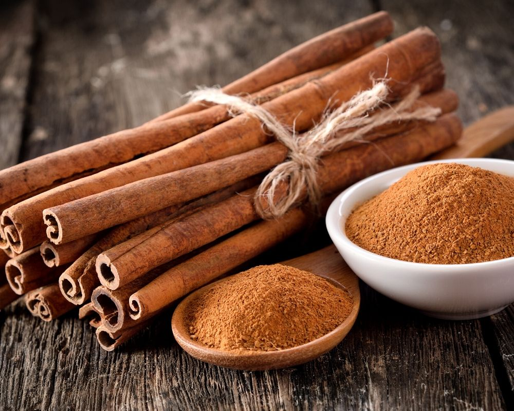 cinnamon being used as a remedy