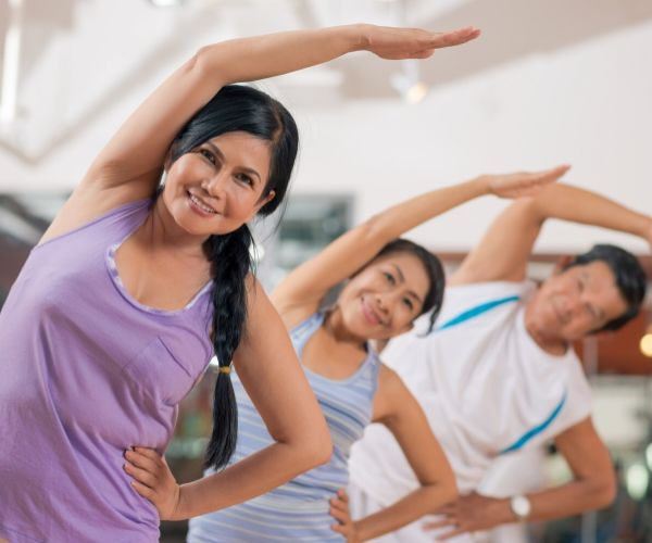 exercising as a natural remedy